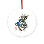 dragon bass Ornament (Round)