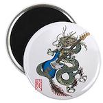dragon bass Magnet