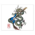 dragon bass Small Poster