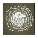 The Zombie Wants Brains! Tile Coaster