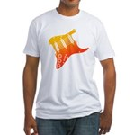 guitar1 Fitted T-Shirt