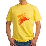 guitar1 Yellow T-Shirt