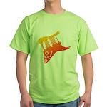 guitar1 Green T-Shirt