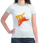 guitar1 Jr. Ringer T-Shirt