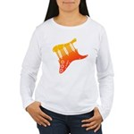 guitar1 Women's Long Sleeve T-Shirt