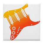 guitar1 Tile Coaster