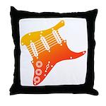 guitar1 Throw Pillow