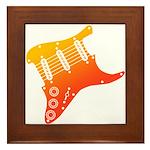 guitar1 Framed Tile