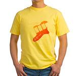 guitar2 Yellow T-Shirt