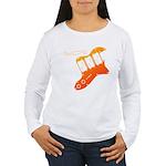 guitar2 Women's Long Sleeve T-Shirt