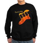 guitar2 Sweatshirt (dark)