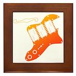 guitar2 Framed Tile
