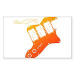 guitar2 Sticker (Rectangle 10 pk)
