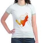 guitar 3 Jr. Ringer T-Shirt