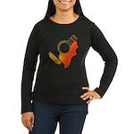 guitar 3 Women's Long Sleeve Dark T-Shirt