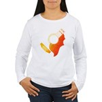 guitar 3 Women's Long Sleeve T-Shirt