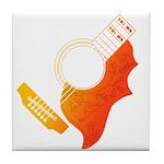 guitar 3 Tile Coaster