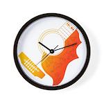 guitar 3 Wall Clock