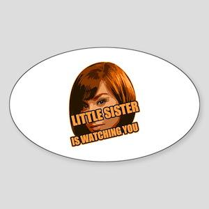 Little Sister Sticker (Oval)