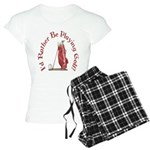 I'd Rather Be Playing Golf! Women's Light Pajamas