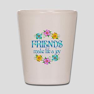 Friendship Joy Shot Glass