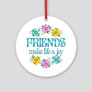 Friendship Joy Ornament (Round)