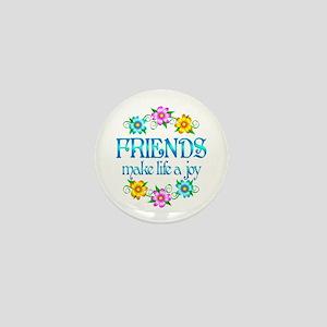 Friendship Joy Mini Button