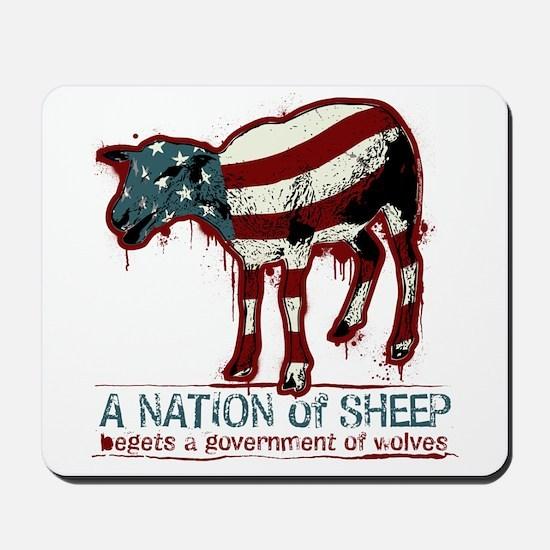 A Nation of Sheep Mousepad