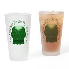 I'd Rather Be On The Couch! Drinking Glass