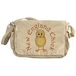 New England Chick Messenger Bag