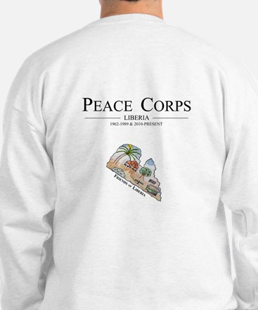 Unique Peace corps Sweatshirt