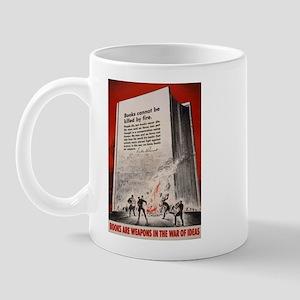 """Books cannot be killed by fi Mug"