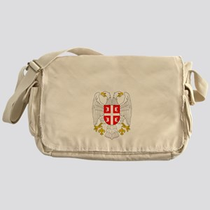Serb Eagle Cyrillic Messenger Bag