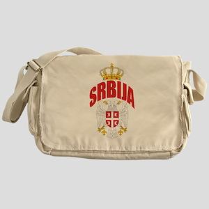 Serbia Messenger Bag