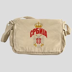Serbia Cyrillic Messenger Bag