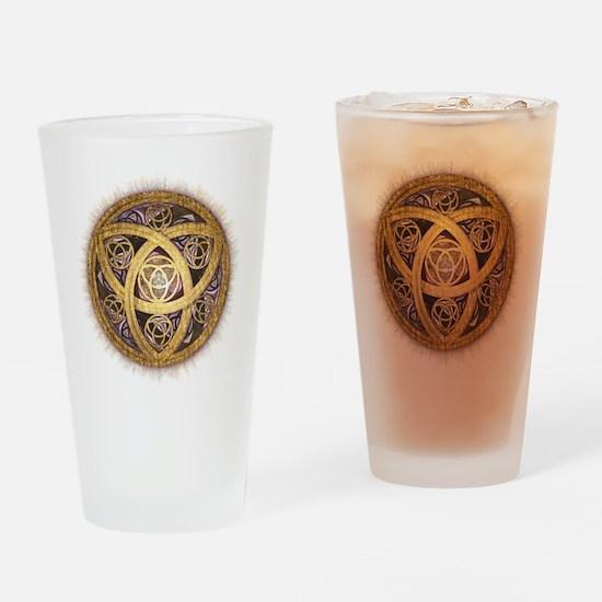 Celtic Sun Drinking Glass