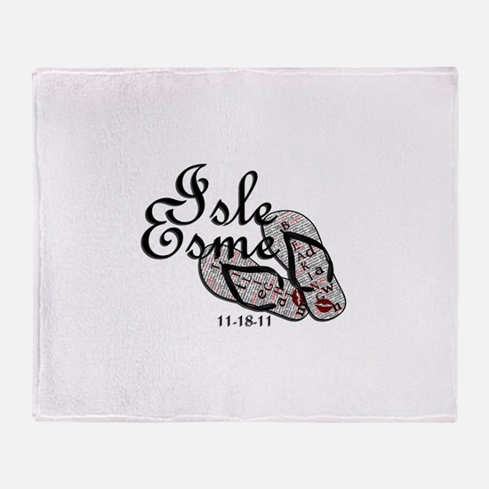 Isle Esme Throw Blanket