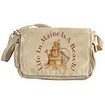 Life's a Beach! Messenger Bag