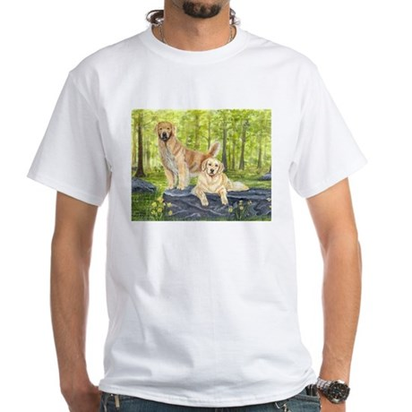 Golden Pair White T-Shirt
