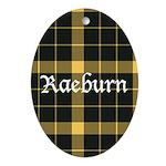 Tartan - Raeburn Ornament (Oval)