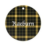 Tartan - Raeburn Ornament (Round)