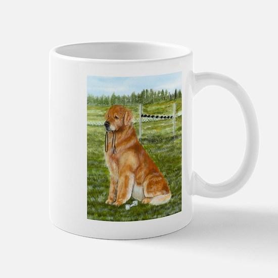 Golden Obedience Mug