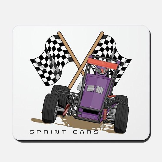 Sprint Cars Mousepad