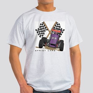 Sprint Cars Ash Grey T-Shirt