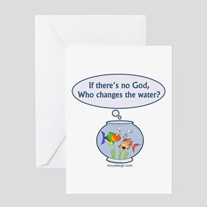 Is There a God? Greeting Card