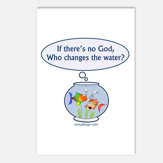 Is There a God? Postcards (Package of 8)