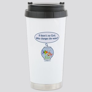 Is There a God? Stainless Steel Travel Mug