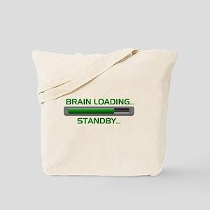 Brain Loading.... Tote Bag