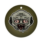 The Zombie Ornament (Round)