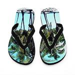 Tropical Beach Flippity Flop Flip Flops